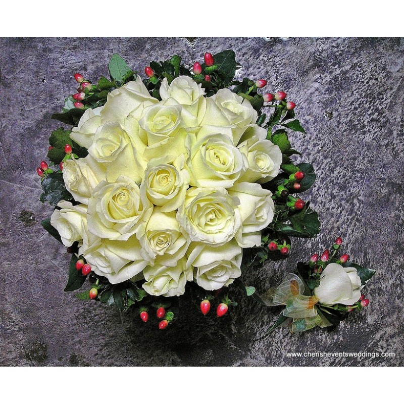 BB009 - Bridal Bouquet (Self Pick Up)