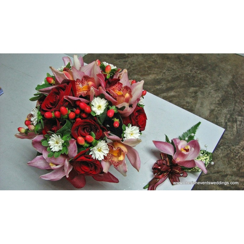BB031 - Bridal Bouquet (Self Pick Up)
