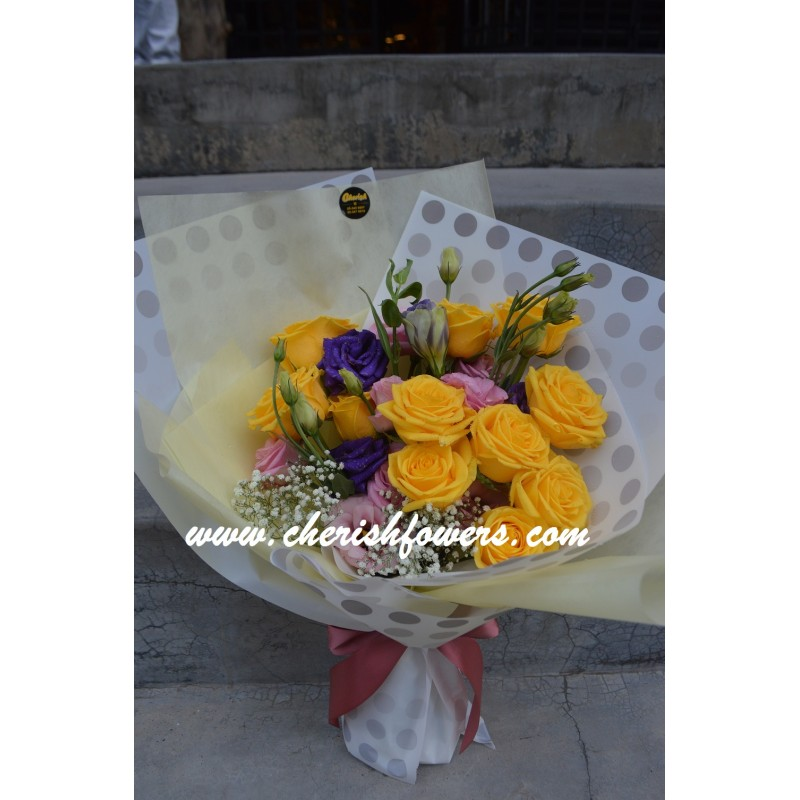 HB22 - Yellow Bouquet