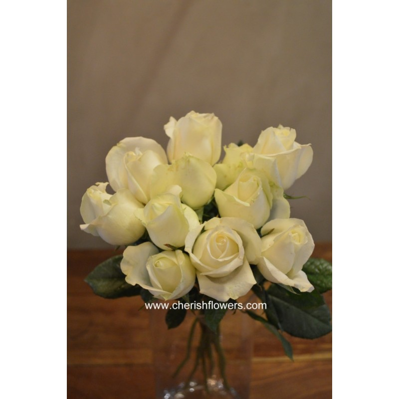 LF02 - White Rose (10 stalks)