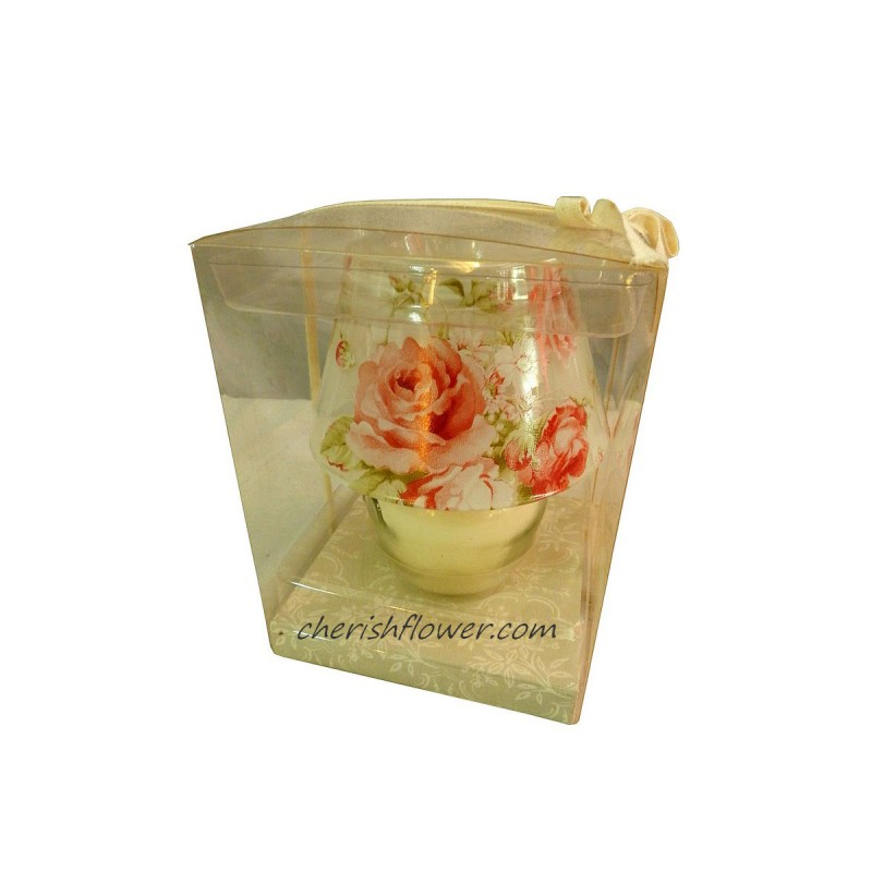 XG06 - English Lamp Candle Glass