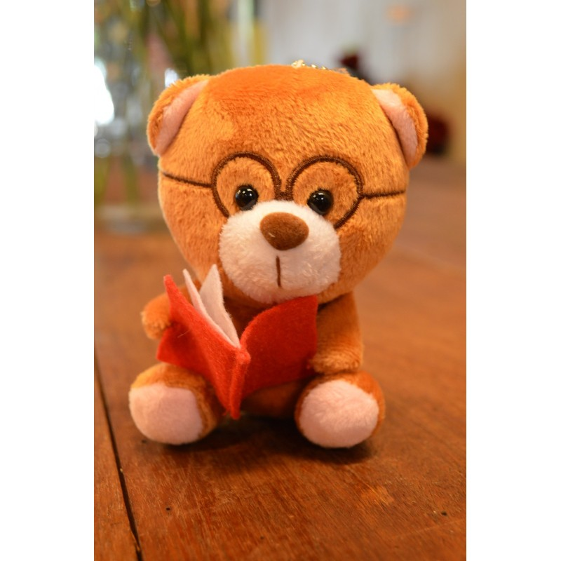 AOT34 - Bear Holding with Book(Brown)