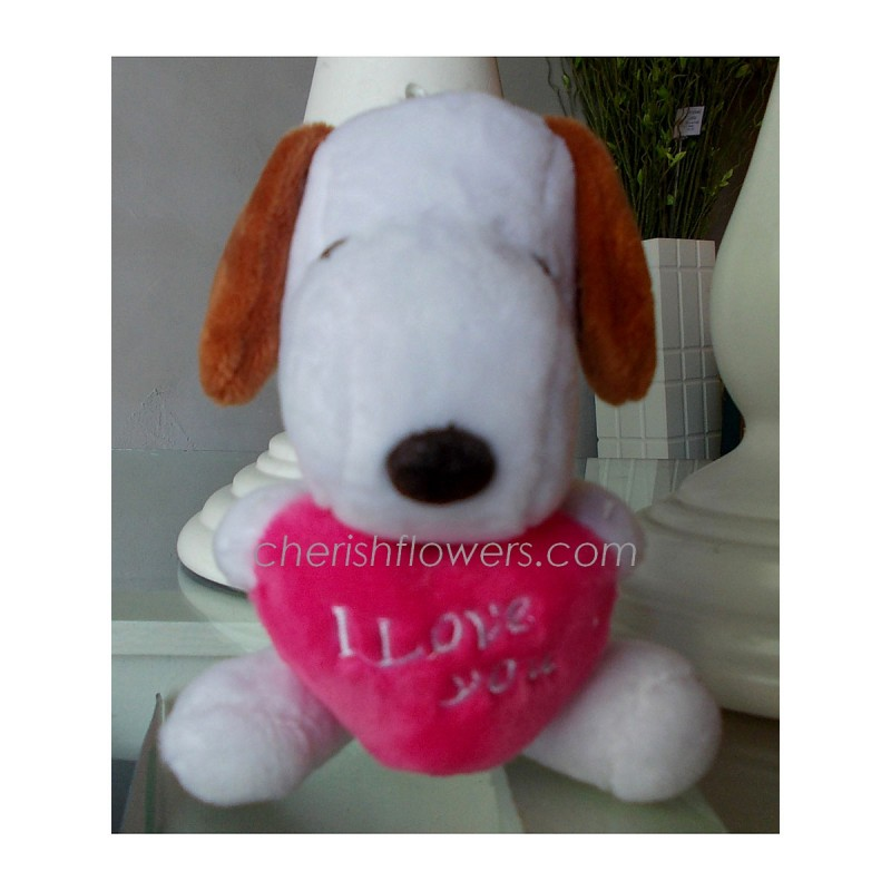 AOT20 - I Love You Snoopy (Pink)