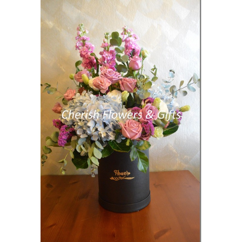 FA00 - Hydrangea In Box Arrangement