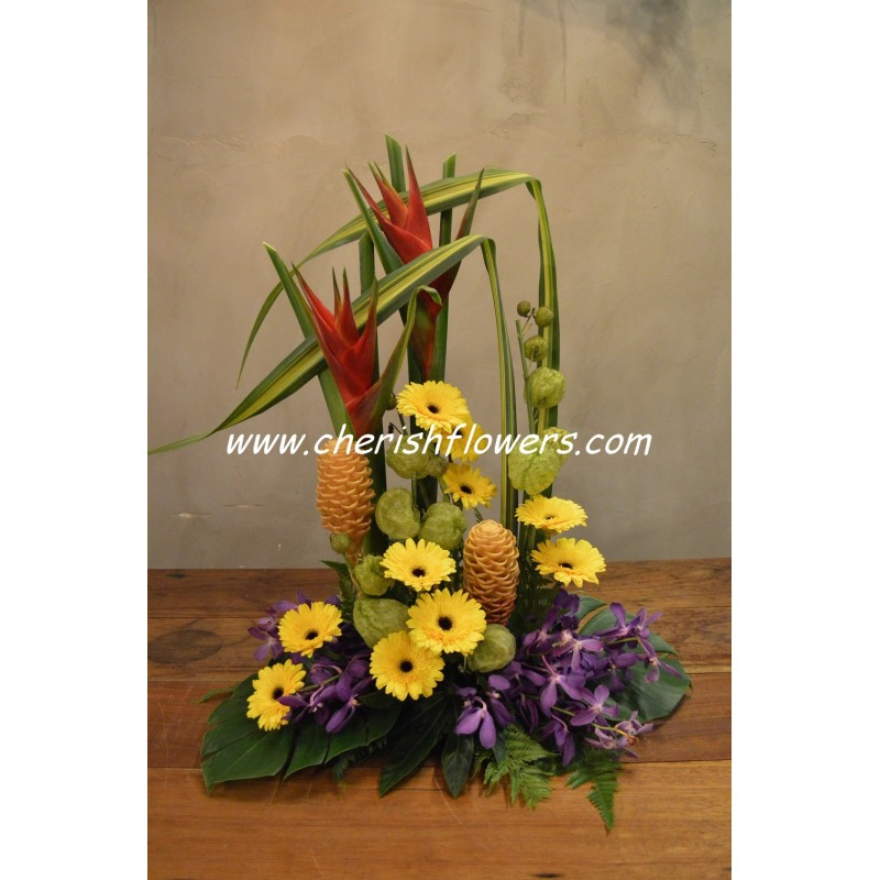 FA12 - Fresh Flower Table Arrangement