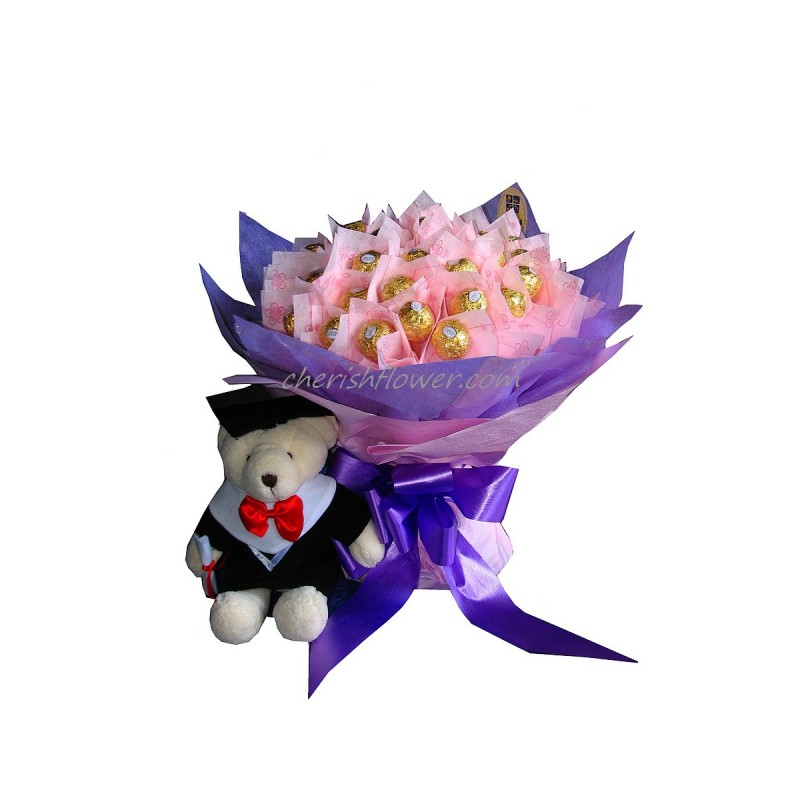 GB04 - Choco Grad Bouquet