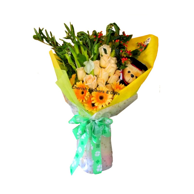 GB06 - Exclusive Grad Bouquet