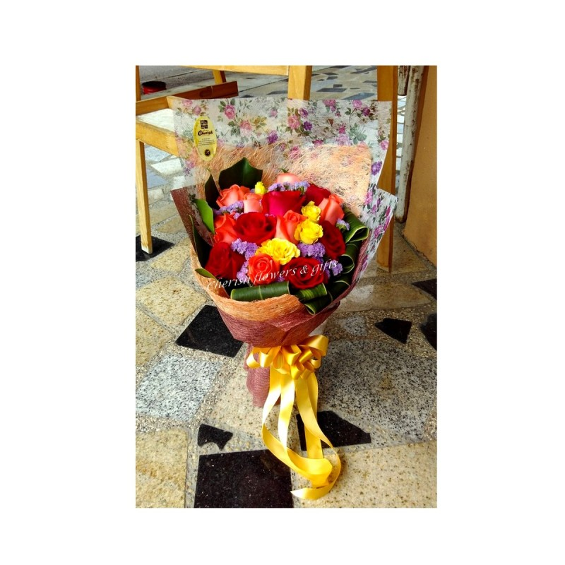 HB14 - Colourful Bouquet