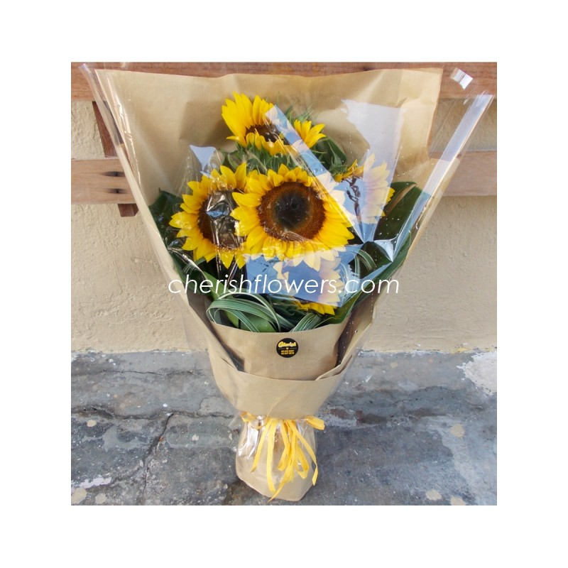 HB44 - Sunflower Bouquet