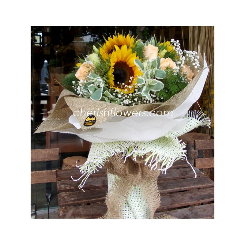 HB25 - Sunflowers & Roses HB