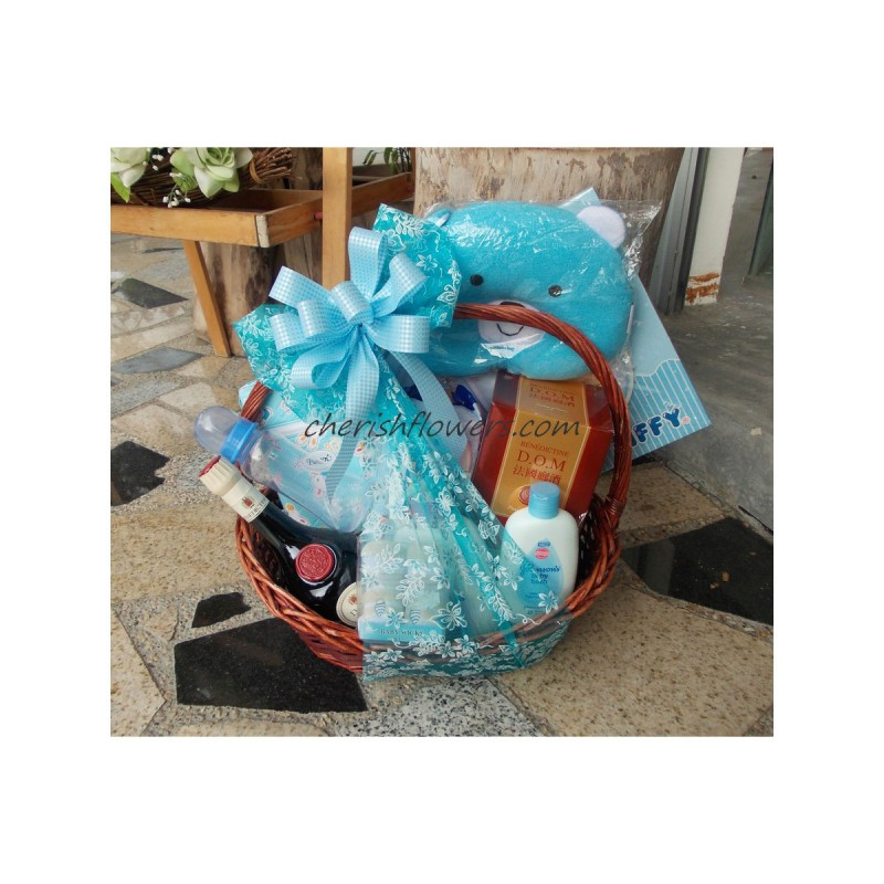 NBB05 - Baby Boy with DOM Hamper