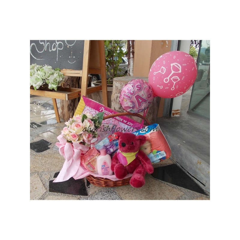 NBB06 - Baby Girl Hamper