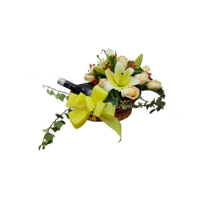 W02 - Wine & Flowers