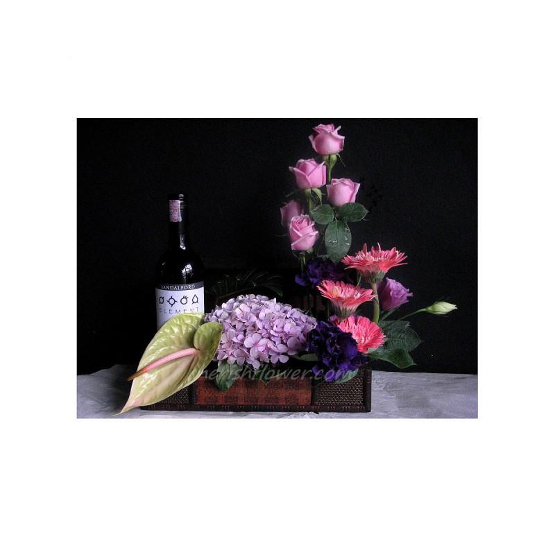 W06 - Wine & Flowers