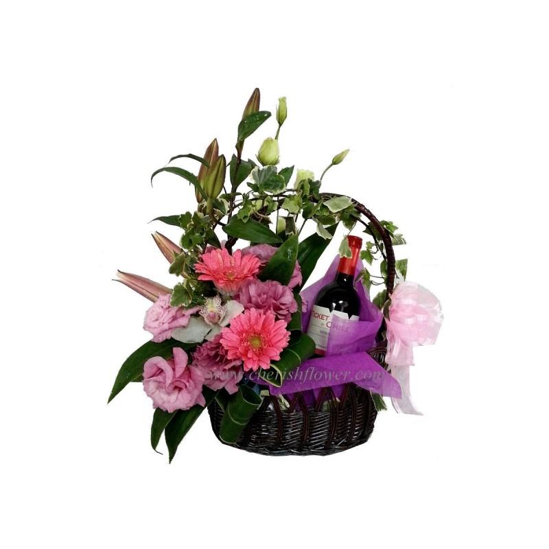 W17 - Wine & Flowers